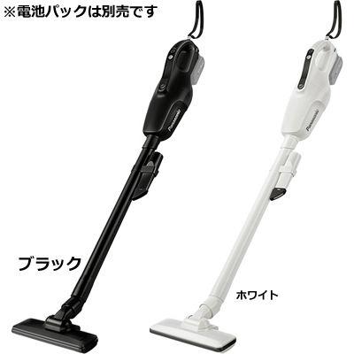 パナソニック 充電式 スティック クリーナー コードレス ホワイト 本体のみ(注意:電池パック別売り) EZ37A3-W