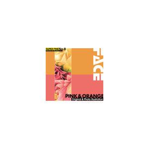 その他 写真素材 SUPER FINE No.8 PINK & ORANGE (ピンクとオレンジ色の花) ds-67142