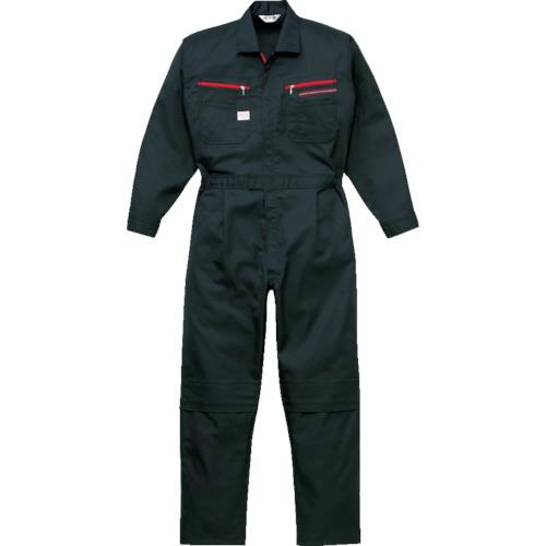 トラスコ中山 AUTO-BI ツナギ服 4Lサイズ ブラック 1280BC4L