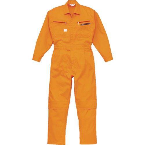 トラスコ中山 AUTO-BI ツナギ服 5Lサイズ オレンジ 1280OR5L