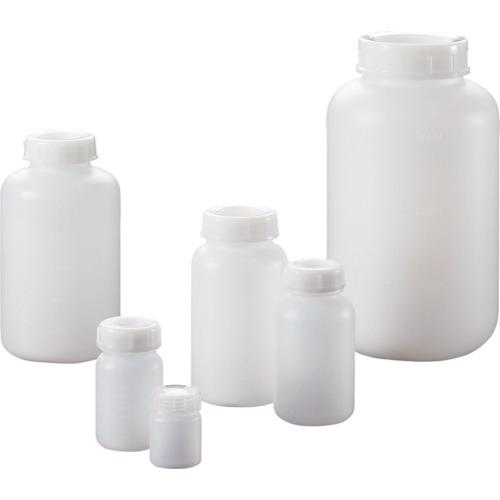 トラスコ中山 サンプラ PE広口瓶 500mL (100本入) 2085