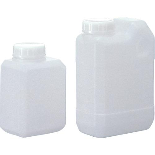 トラスコ中山 サンプラ 角瓶C型(広口タイプ) 1L  (100個入) 2133