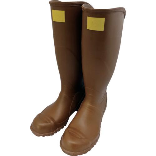 トラスコ中山 ワタベ 電気用ゴム長靴(先芯入り)24.5cm 24224.5
