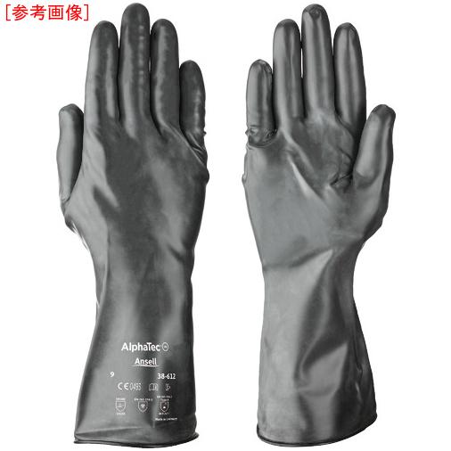 トラスコ中山 アンセル 耐薬品手袋 アルファテック 38-612 Mサイズ 386128