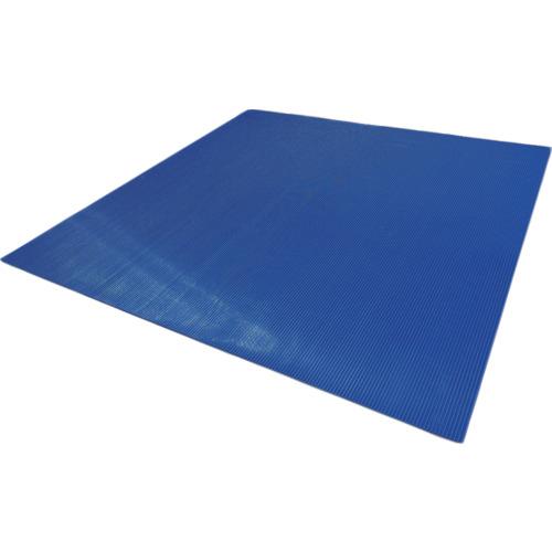 トラスコ中山 ワタベ 耐電用筋入コスモスマット(B山形状)1m×1m 4501M