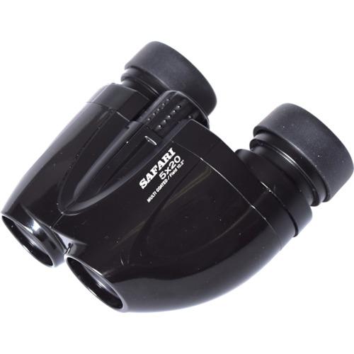 トラスコ中山 SIGHTRON コンパクト広視野5倍双眼鏡 SAFARI5×20BK 5X20BK