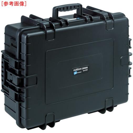 トラスコ中山 B&W プロテクタケース 6000 黒 フォーム 6000BSI