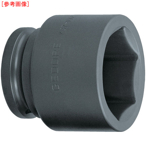 トラスコ中山 GEDORE インパクト用ソケット(6角) 1・1/2 K37 60mm 6328560