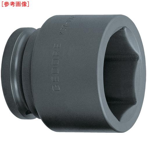 トラスコ中山 GEDORE インパクト用ソケット(6角) 1・1/2 K37 90mm 6329100