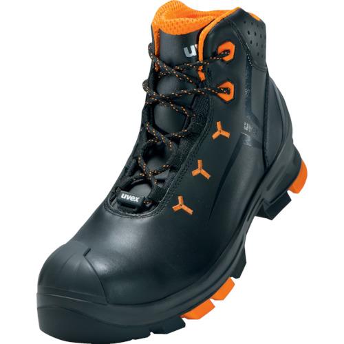 トラスコ中山 UVEX UVEX2 ブーツ ブラック 25.5CM 6503.54