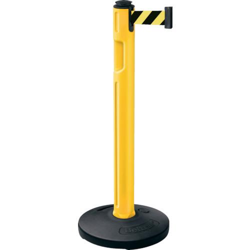 トラスコ中山 スガツネ工業 290-036299 屋外用ベルトパーテーション ゴム 柱黄 黄黒 805000RYLSF