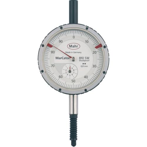 トラスコ中山 マール ダイヤルインジケーター 深さ測定用・耐衝撃・防滴タイプ(4315000) 810SW