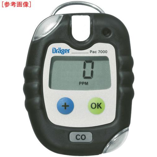 トラスコ中山 Drager 単成分ガス検知警報器 パック7000 一酸化炭素 8318676