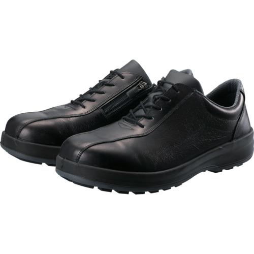 トラスコ中山 シモン 耐滑・軽量3層底安全短靴8512黒C付 23.5cm 8512C235