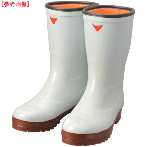 トラスコ中山 SHIBATA 安全防寒スーパークリーン長7型(白) AC04024.5