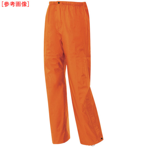 トラスコ中山 アイトス ディアプレックス レインパンツ オレンジ LL AZ56302063LL