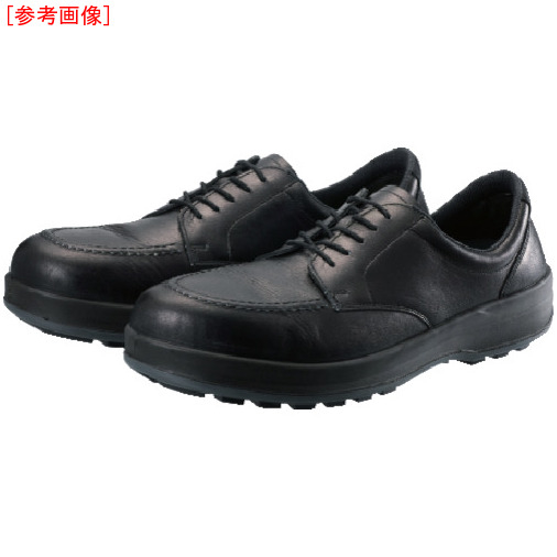 トラスコ中山 シモン 耐滑・軽量3層底静電紳士靴BS11静電靴 27.5cm BS11S275