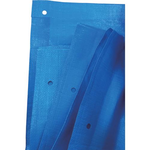 トラスコ中山 アサヒ 旭産業 ブルーシート#3000ノンメタルハトメ 10MX10M BSNA1010