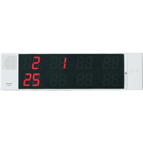 トラスコ中山 Panasonic サービスコール副表示器(可変表示タイプ) ECE3107