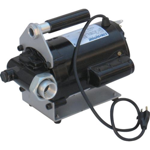 トラスコ中山 アクアシステム 大容量型電動ハンディポンプ (100V) オイル 油 EV100H