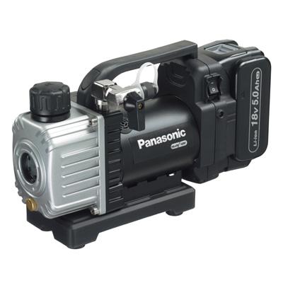 トラスコ中山 Panasonic 充電真空ポンプ本体のみ、アルミケース付 EZ46A3KB