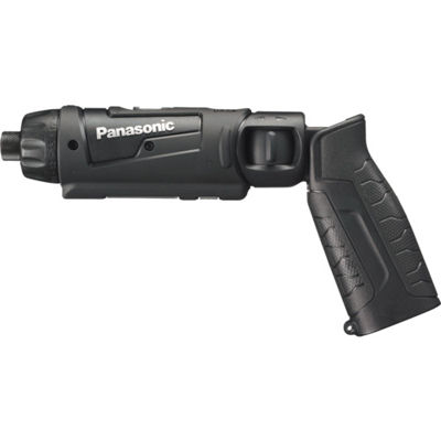 トラスコ中山 Panasonic 7.2V充電スティックドリルドライバー 本体のみ 黒 EZ7421XB