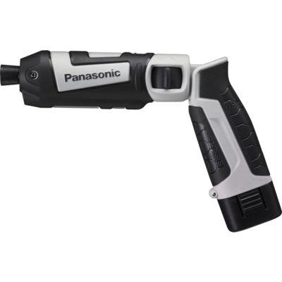 トラスコ中山 Panasonic 充電スティックインパクトドライバ7.2V グレー EZ7521LA2SH
