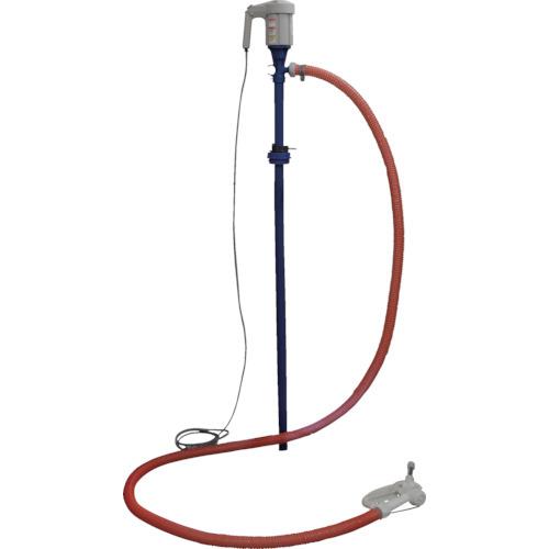 トラスコ中山 アクアシステム アドブルー・尿素水用電動ドラムポンプ 4523606761718