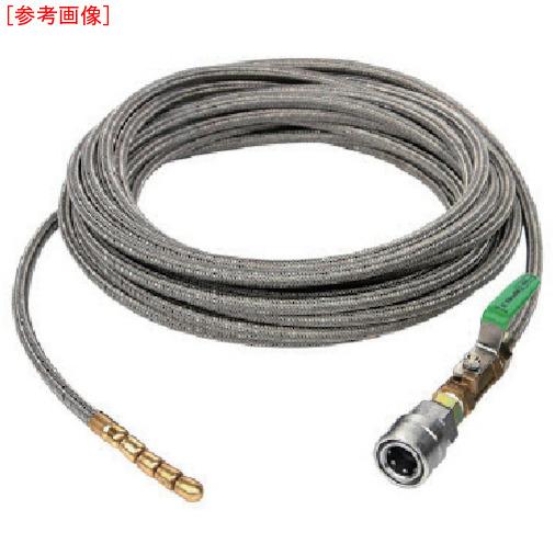 トラスコ中山 アサダ SUS洗管ホース 16/200G・13/100GS用 10m 1TC HD06008