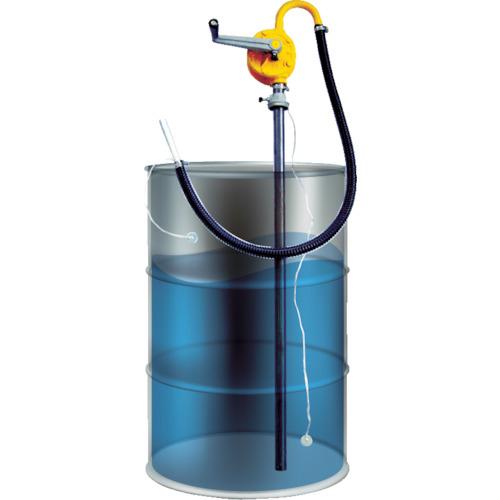 トラスコ中山 アクアシステム ガソリン専用手廻しドラムポンプ (アース付) HR25G