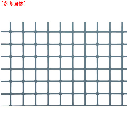 トラスコ中山 OKUTANI 樹脂パンチング 1.0TX角孔20XP23 910X910 グレ JPPVCT1S20P23910X910GRY