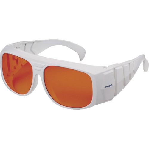 トラスコ中山 OTOS レーザー用保護メガネ オーバーグラス YAG用 L702YG2
