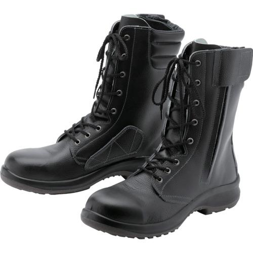 LPM230F21.0 トラスコ中山 女性用長編上安全靴 LPM230Fオールハトメ 21.0cm ミドリ安全