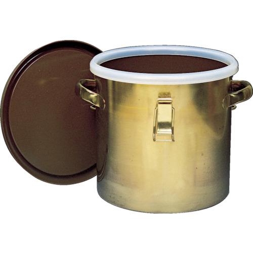 トラスコ中山 フロンケミカル フッ素樹脂コーティング密閉タンク(金具付) 膜厚約50μ 10L NR0378002