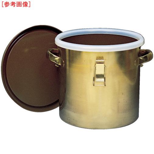 トラスコ中山 フロンケミカル フッ素樹脂コーティング密閉タンク(金具付) 膜厚約50μ 15L NR0378003