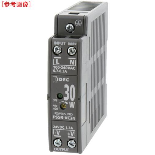 トラスコ中山 IDEC PS5R-V形スイッチングパワーサプライ(薄形DINレール取付電源) PS5RVE24
