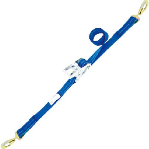 トラスコ中山 シライ ベルタイト ラチェットバックル 端末金具付き形 スナップフックツイスト付 RK355SHT200