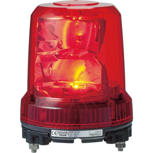 トラスコ中山 パトライト 強耐振型LED回転灯 RLRM2PR