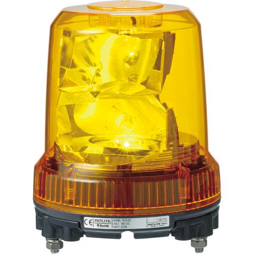 トラスコ中山 パトライト 強耐振型LED回転灯 RLRM2PY