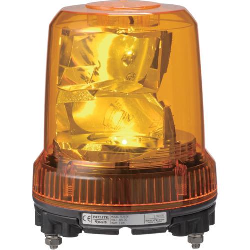 トラスコ中山 パトライト 強耐振型LED回転灯 RLRM2Y