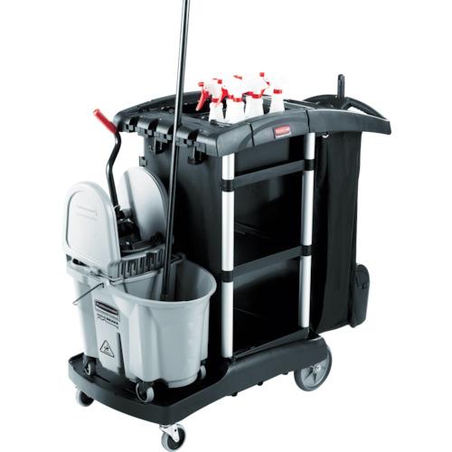 誠実 トラスコ中山 ラバーメイド ジャニターカート RM1861429BK:激安!家電のタンタンショップ-DIY・工具
