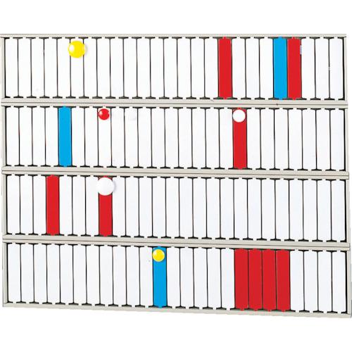 トラスコ中山 リヒト 回転標示盤(100口座) S2534