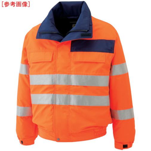 トラスコ中山 ミドリ安全 高視認性 防水帯電防止防寒ブルゾン オレンジ S SE1135UES