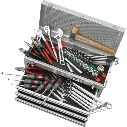 トラスコ中山 KTC 工具セット(チェストタイプ:一般機械整備向) SK4520MXS