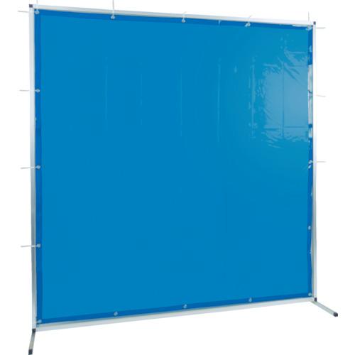トラスコ中山 TRUSCO 溶接用遮光フェンス アルミ製 W2000XH2000 ブルー TYAF2020B