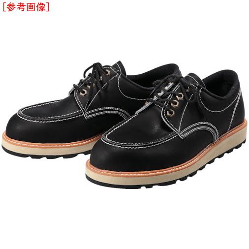 トラスコ中山 青木安全靴 US-100BK 24.0cm US100BK24.0