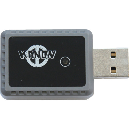 トラスコ中山 カノン コンパクトワイヤレスデ-タ送信デジタルノギス用受信機 USBK1