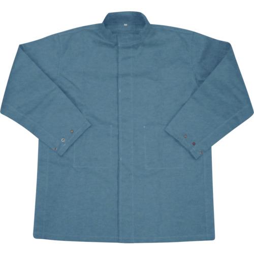 トラスコ中山 吉野 ハイブリッド(耐熱・耐切創)作業服 上着 ネイビーブルー YSPW1BM
