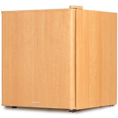 エスキュービズム 1ドア インテリア冷蔵庫 49L ライトウッド WRH-1049LW