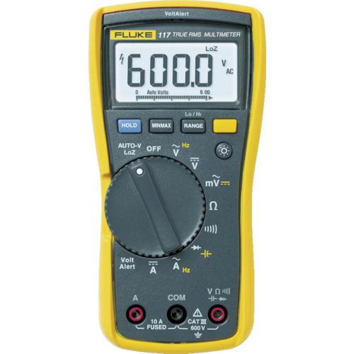 トラスコ中山 FLUKE 真の実効値マルチメーター 1176366